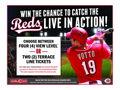 Tickets to a 2016 Cincinnati Reds Game