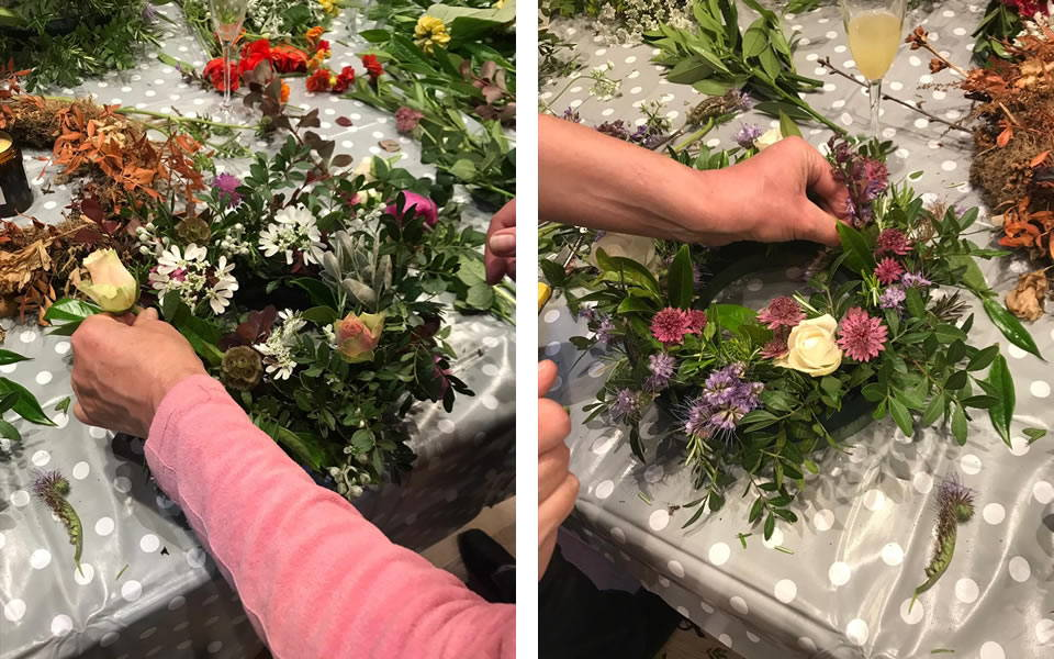 Hedgerow & Bloom Wreath Making Workshop