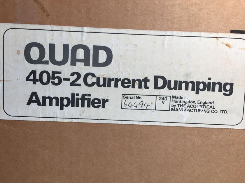 Quad Ltd. 405-2 complete system