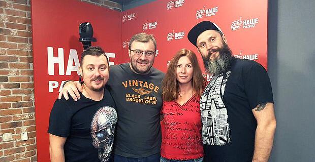 Михаил Пореченков побывал в эфире НАШЕго Радио - Новости радио OnAir.ru