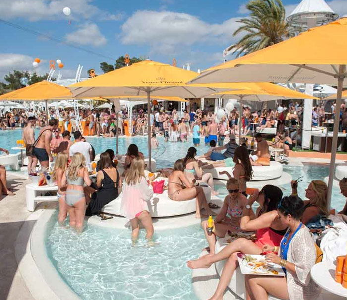 Ushuaia ibiza tickets, most famous clubs in Ibiza Playa den Bossa