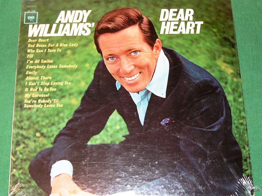 ANDY WILLIAMS - DEAR HEART -  - 1965 COLUMBIA 360 STEREO CS-9138   * NEW/SEALED *