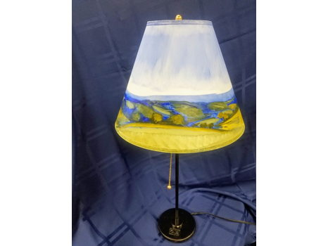 Hand-crafted Lamp