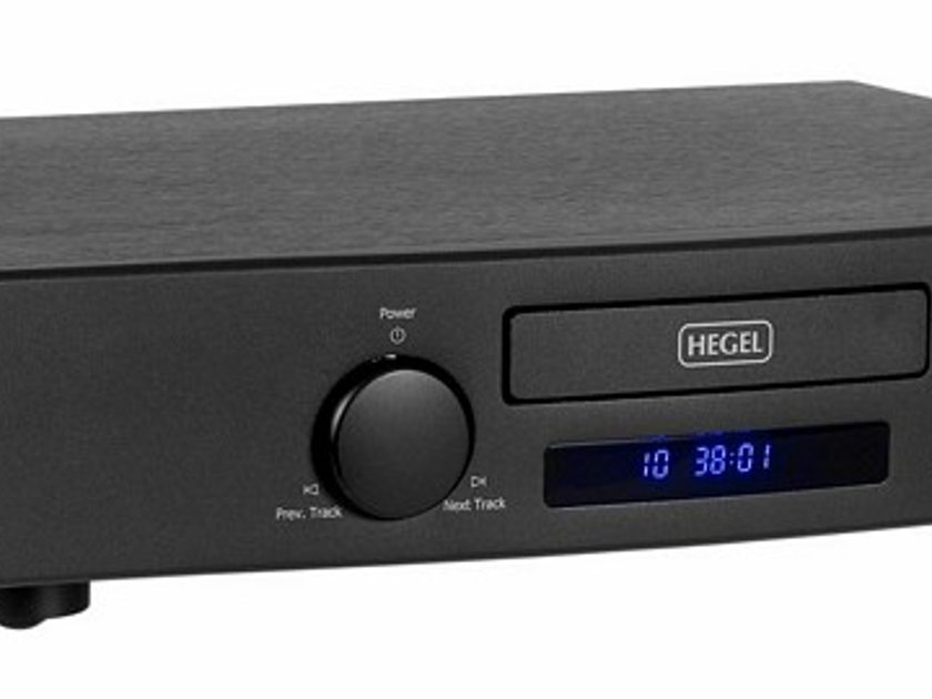Hegel CDP-2A MKII CD Player/Dac Silver