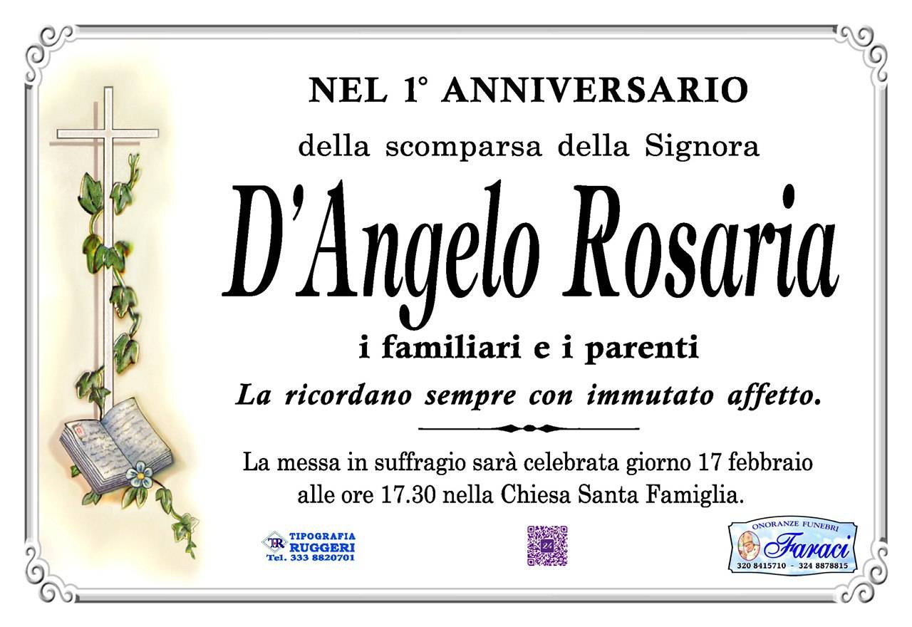 Rosaria D'Angelo