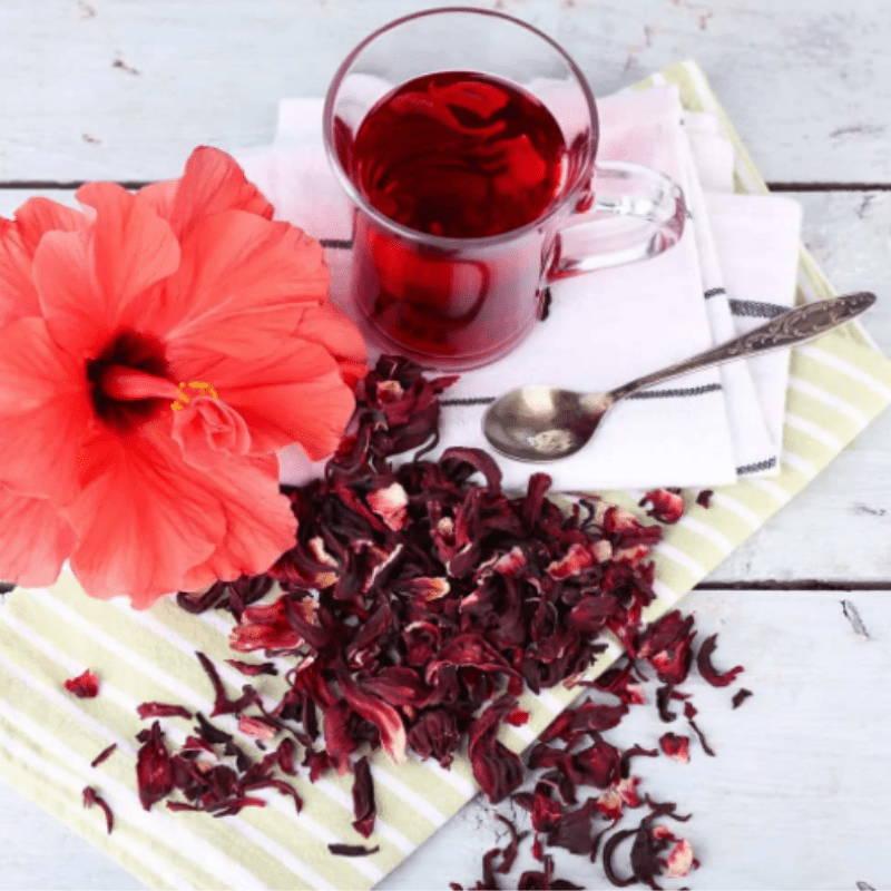 Thé a hibiscus