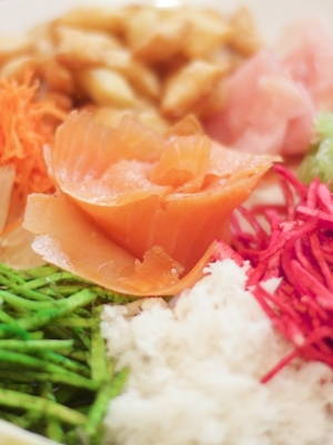 Yu Sheng (Prosperity Raw Fish Salad)