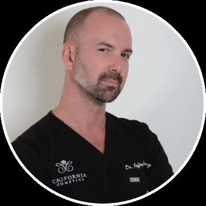 Headshot of Dr.Barczak in black scrubs
