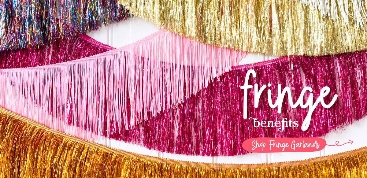 Hello Party Modern Stylish & Luxury Party Supplies Tinsel Fringe Garlands