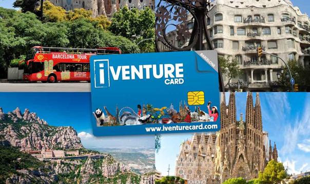 Достопримечательности Барселоны по одной карте Barcelona I-Venture