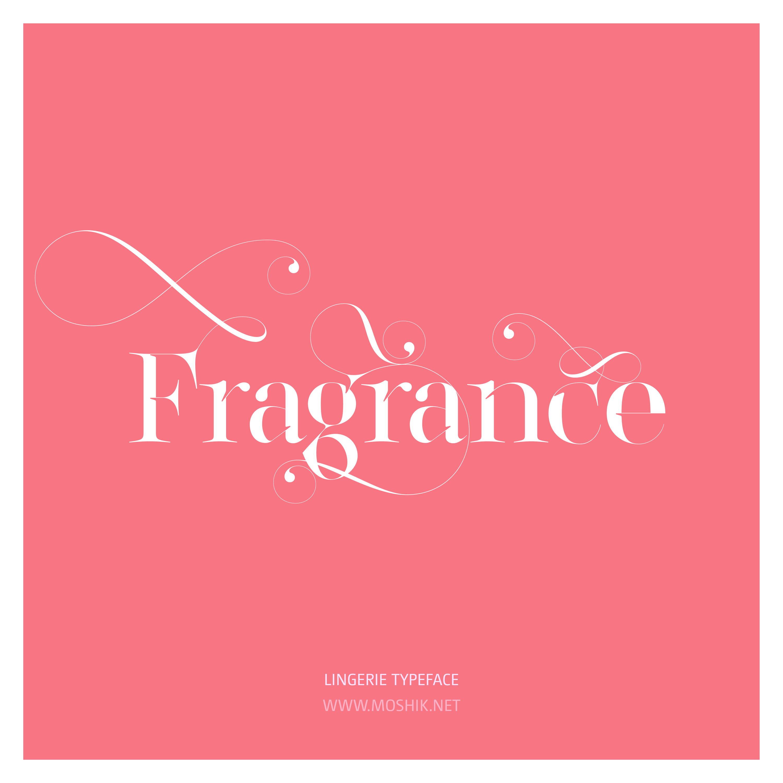 Lingerie Typeface, Fragrance, LOVE, SEXY FONT, BEST FONT 2021, Moshik Nadav, Beautiful fonts, Must have font, swashes, ligatures