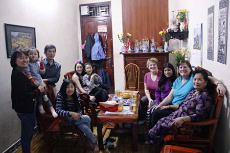 Visit a Local Family in Hanoi
