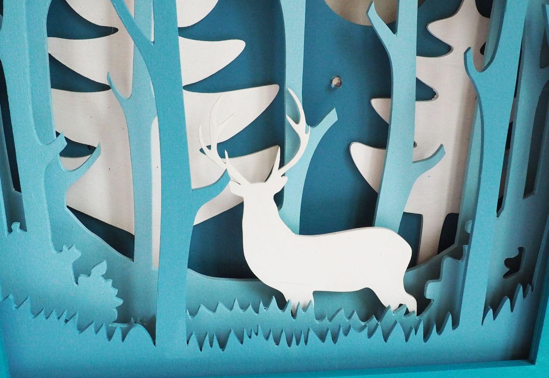 Ночник Волшебный лес. С Оленем