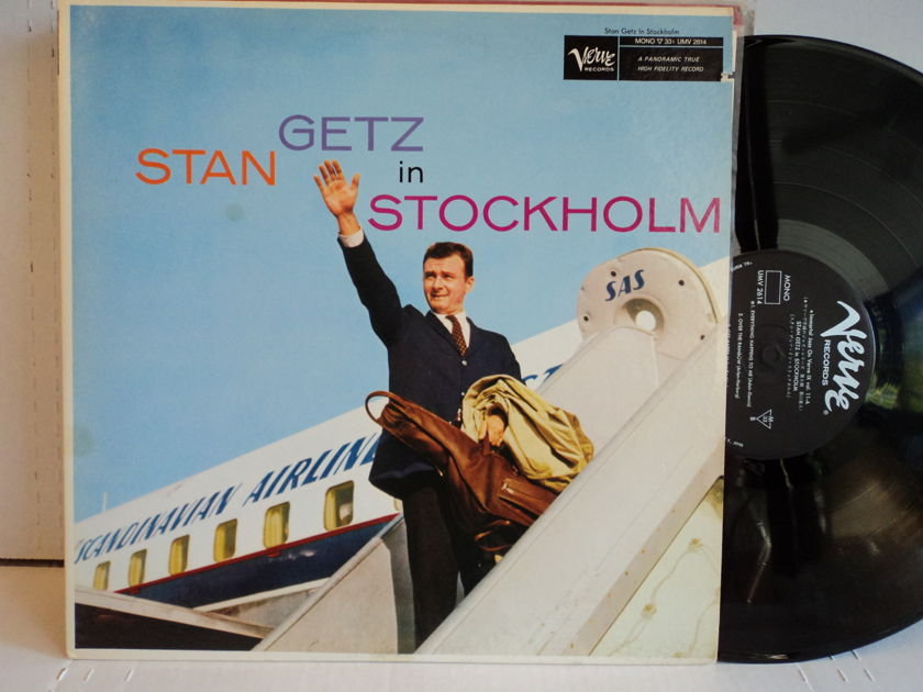 Stan Getz  - Stan Getz in Stockholm Japan Import Verve UMV 2614