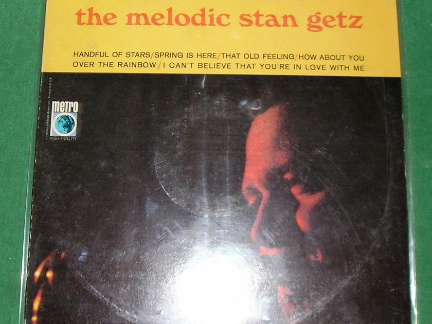 "STAN GETZ   ""THE MELODIC STAN GETS"" - 1965 METRO 1st PRESS STEREO * NM  9/10 *"