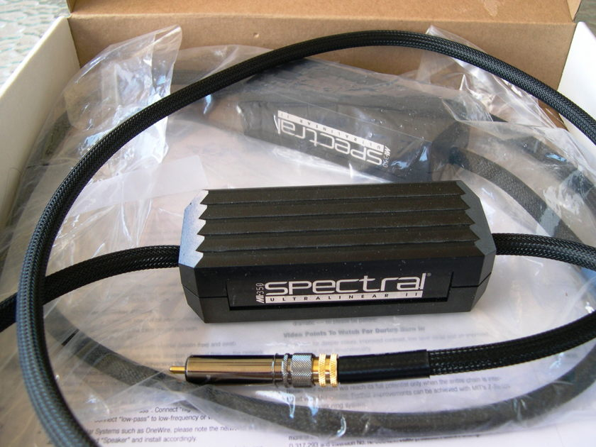 MIT/Spectral 350 UL Series 2 1m pr. New-in-Box Lifetime wrnty