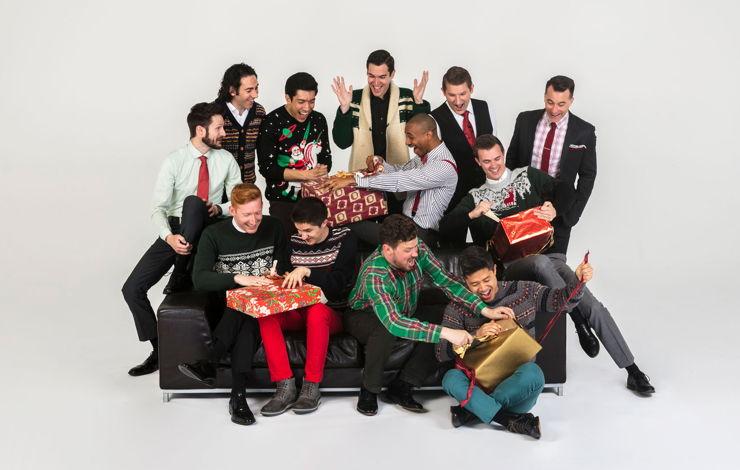 Christmas Concerts 2019 Los Angeles.A Chanticleer Christmas By 12 Man Chorus La Phil Walt