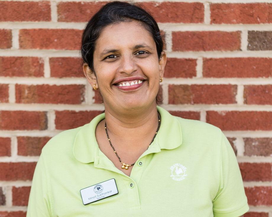 Minoti Sukthankar , Preschool Teacher