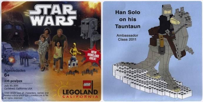 Han Solo on his Tauntaun LLCA53-1