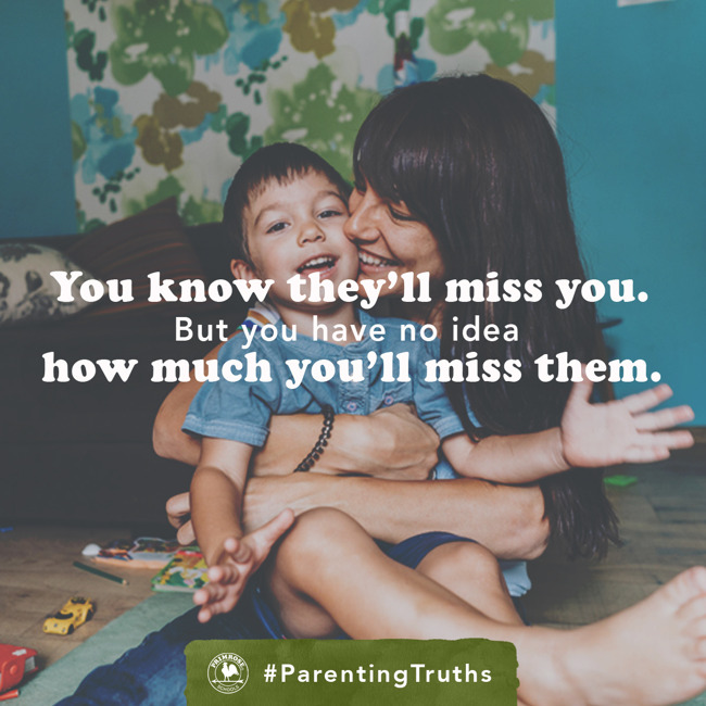 Separation Anxiety #ParentingTruth
