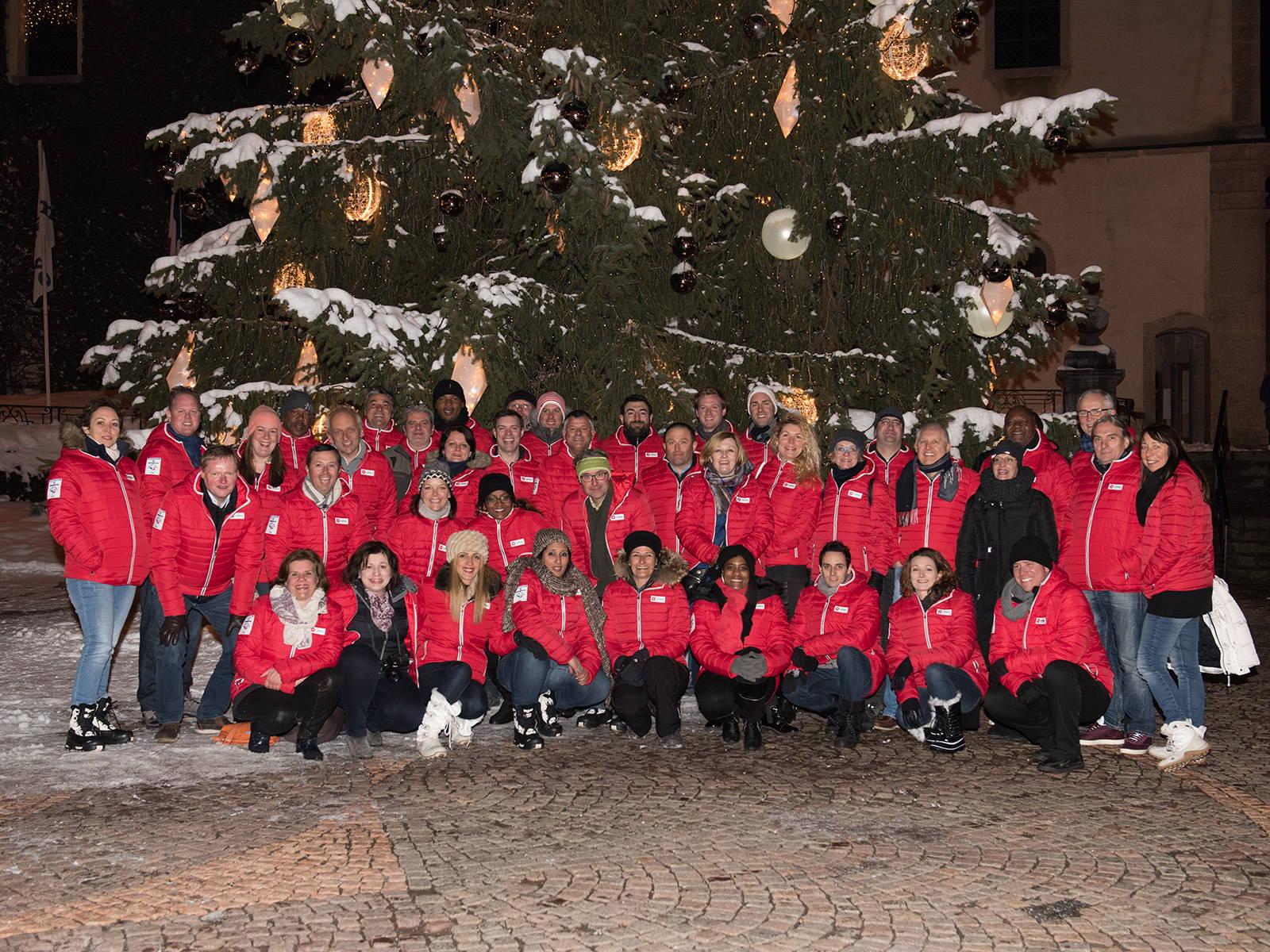 Leblanc Illuminations Christmas Export Team