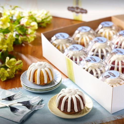 Picture of Nothing Bundt Cakes is open for pickup, curbside service and delivery