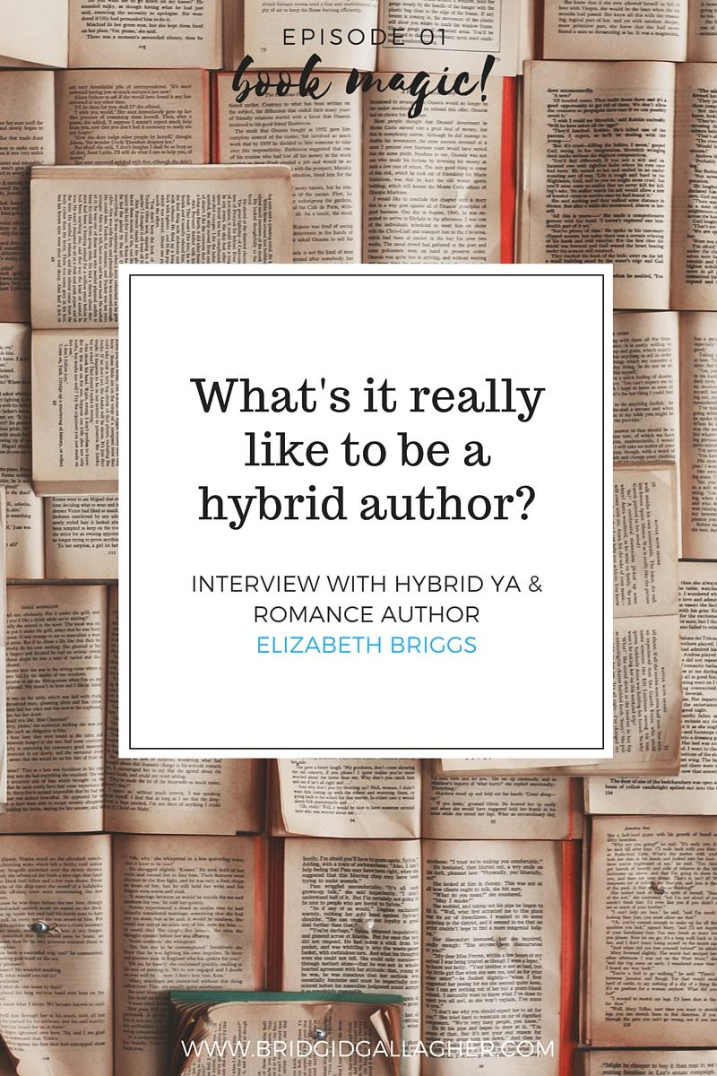 Learn more about self-publishing and traditional publishing from YA and Romance hybrid author Elizabeth Briggs. This week only: Enter to win copies of her YA and Romance books! Click through for details >>>