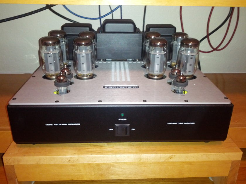 Audio Research VS-115 with KT-120 tubes