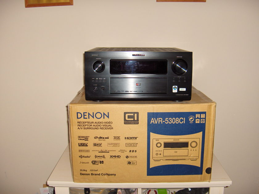 DENON AVR-5308CI VERY,VERY EXCELLENT CONDITION