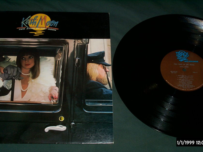 Keith Moon(The Who) - Two Sides Of The Moon LP NM Brown Track Label