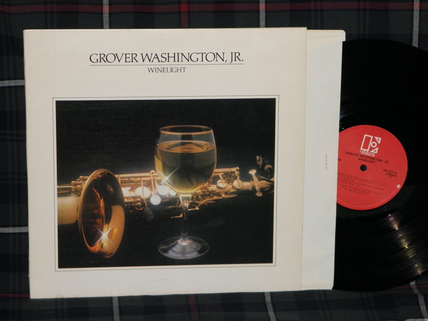 Grover Washington Jr. - Winelight Elektra Red label 6E-305