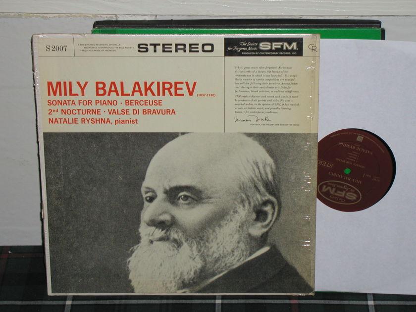 Natalie Ryshna - Balakirev Sonata Comtemporary/sfm s2007
