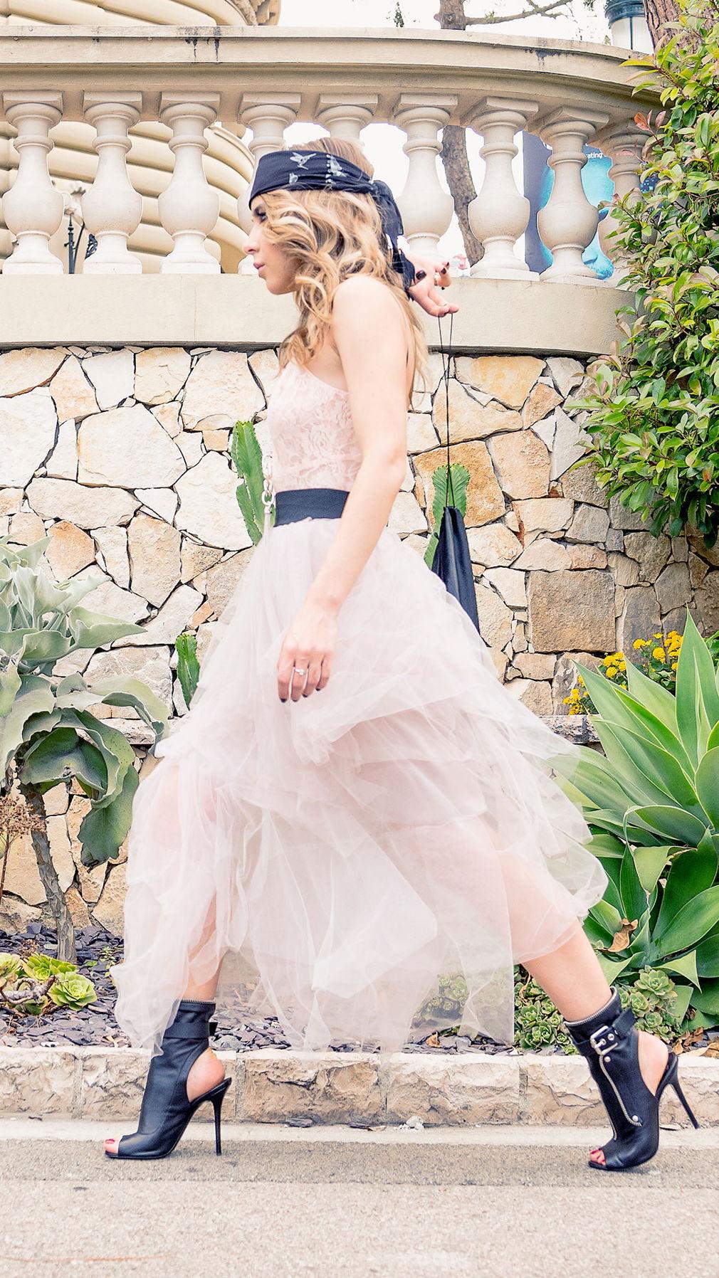 Glam Rock Powder skirt