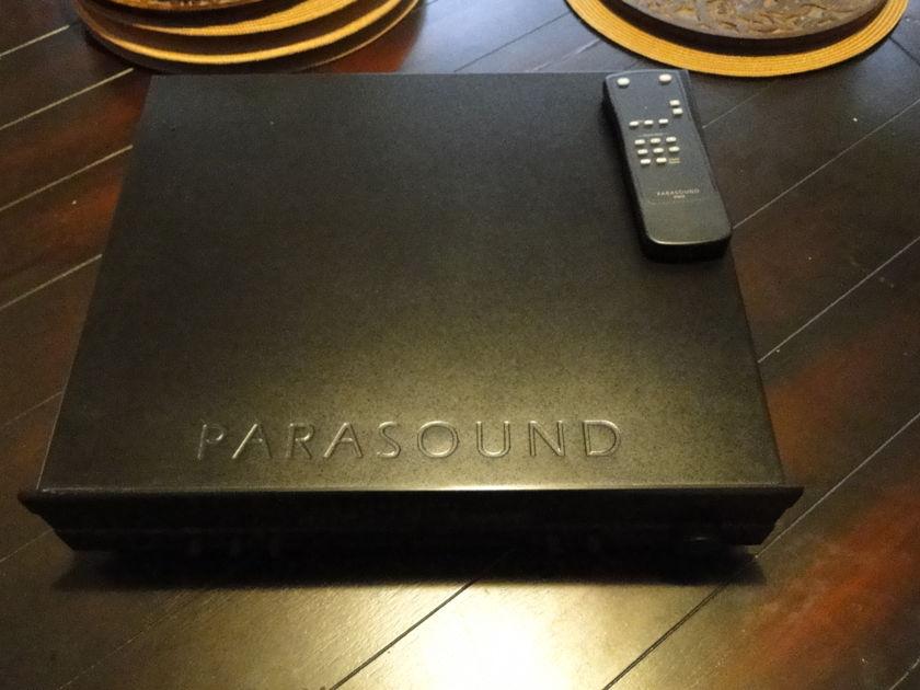 Parasound 2100 2 ch preamp