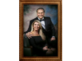 Masterpiece Couples Portrait by Masana at the Hotel Elysée in NYC