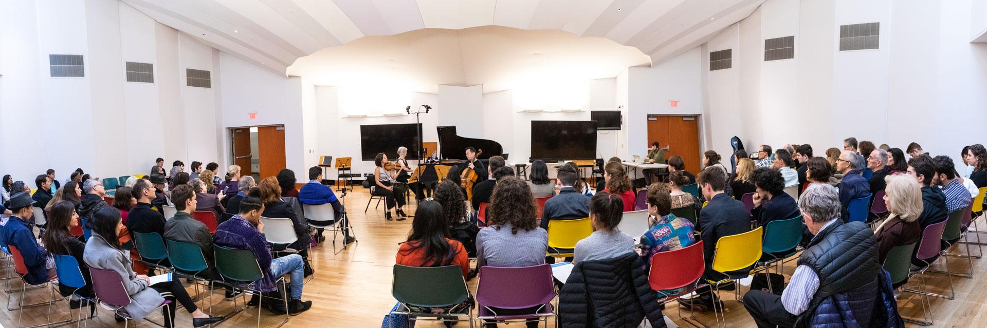 Recital de la beca para compositores