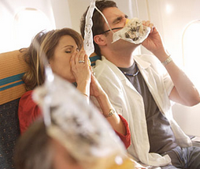 When oxygen masks appear unannounced, you are about to find something out about yourself.