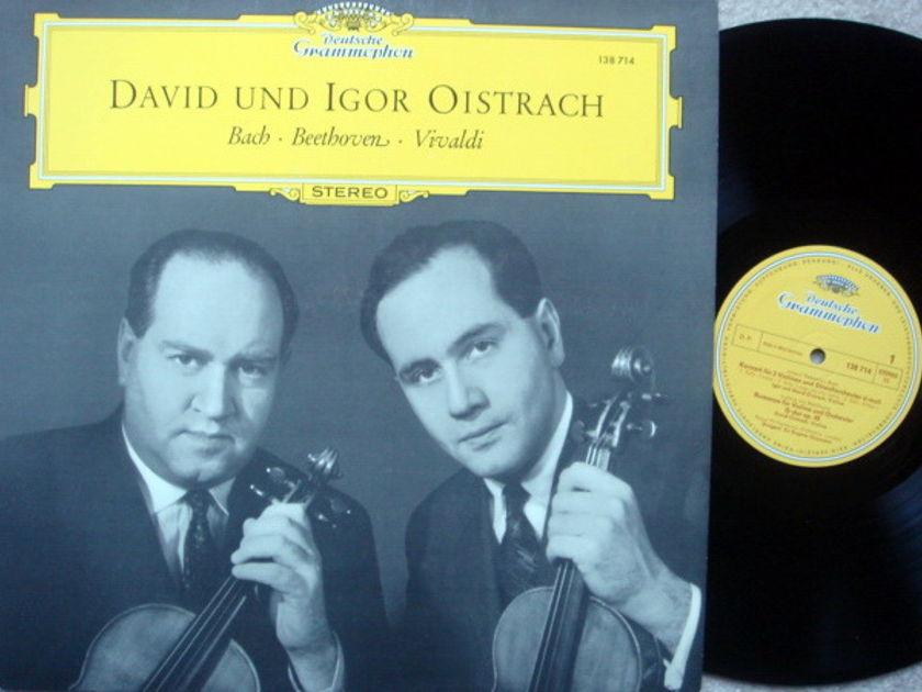 DG / DAVID & IGOR OISTRAKH, - Bach-Beethoven-Vivaldi, NM!