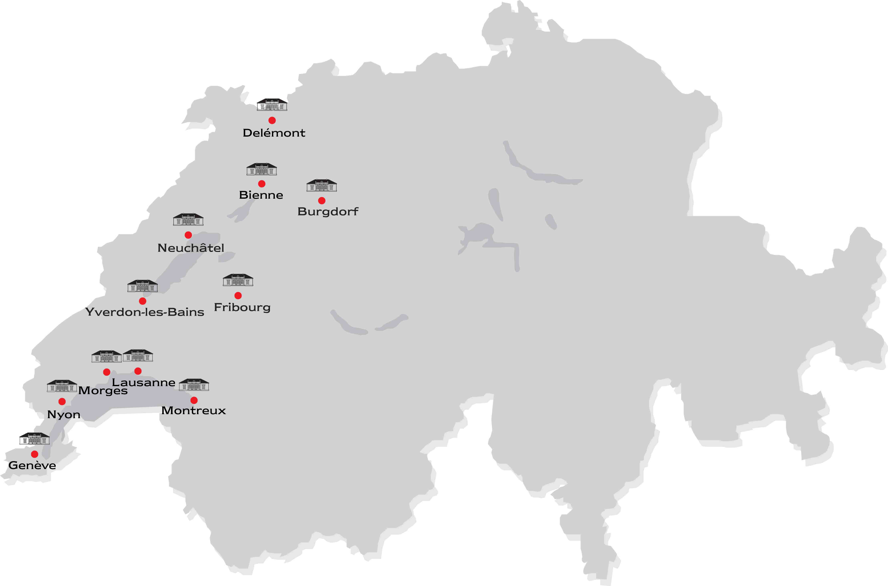 Zug - Free Licence areas Switzerland