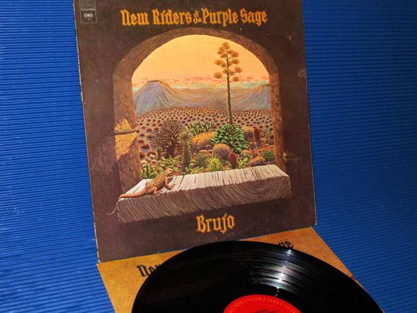 "NEW RIDERS OF THE PURPLE SAGE - - ""Brujo"" - CBS 1974 1st pressing"