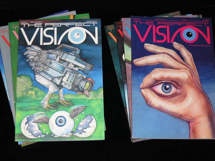 The Perfect Vision Magazines - All magazines in pristine condition