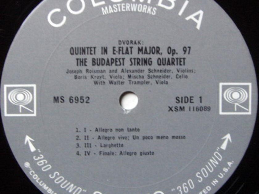 Columbia / BUDAPEST QT-TREMPLER, - Beethoven-Dvorak String Quintets, MINT!
