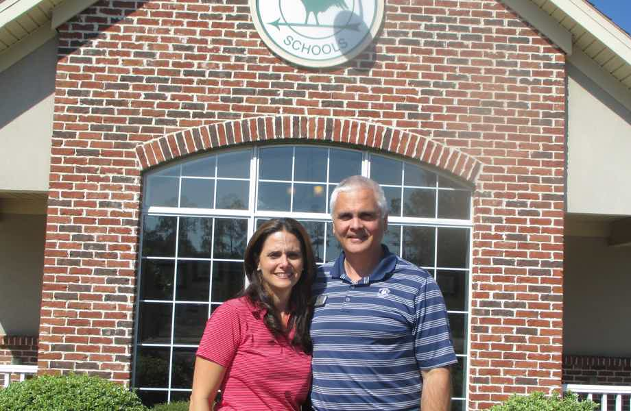 Franchise Owners of Primrose School Ed & Marta Guevara