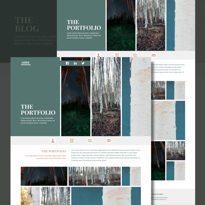Birch template's featured image