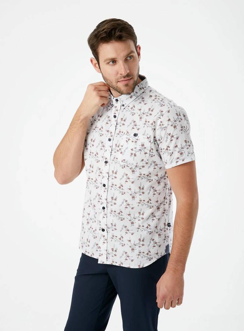Kailua Sunrise Short Sleeve Shirt