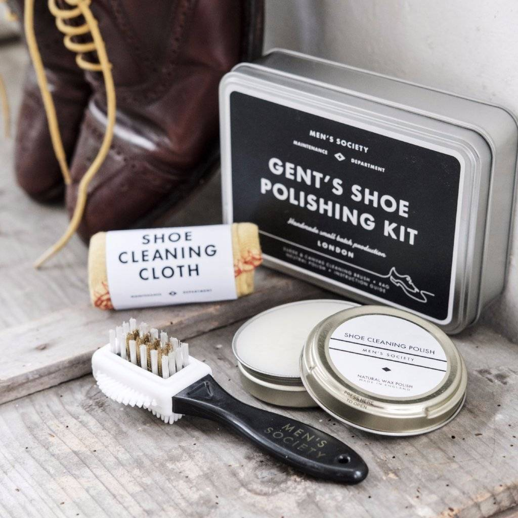 Shoe polishing kit - wholesale gifts for men