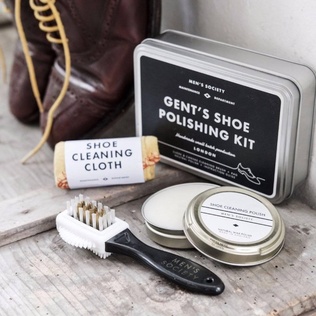 Shoe polishing kit - wholesale gifts for men