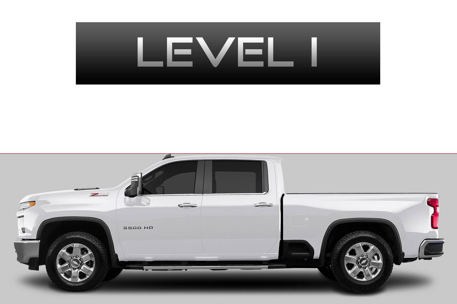 Chevrolet Silverado 2500 Off-Road Customizing Package Level 1 by 3C Trucks