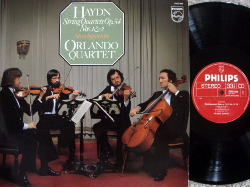 Philips / ORLANDO QT, - Haydn String Quartets No.1 & 2,  MINT!