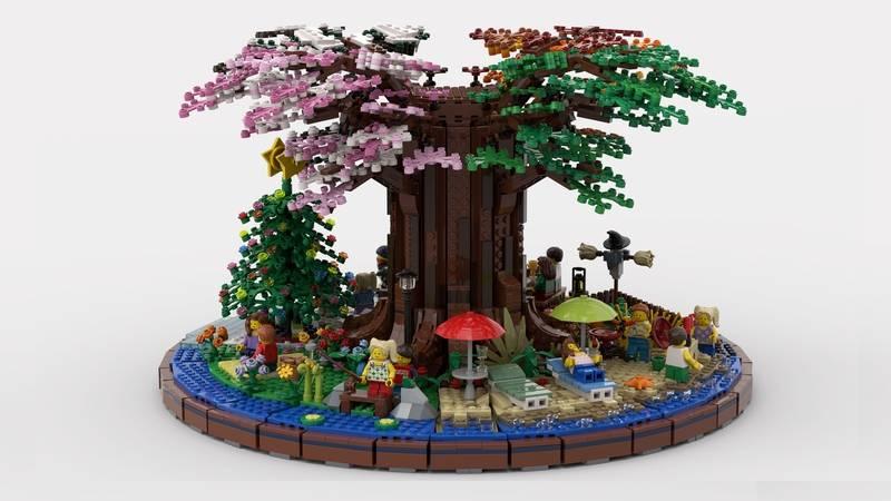 lego four season garden